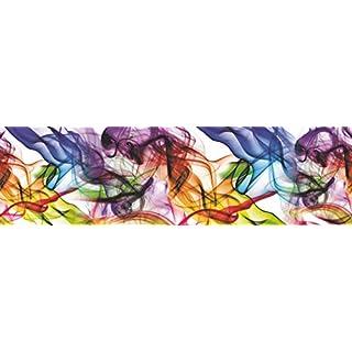 AG Design Wand Sticker, Selbstklebende Folie, Mehrfarbig 500 x 14 cm