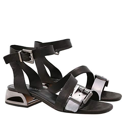 Sandal Nina, 38, Black Nina Ankle Strap Heels
