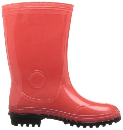 Kamik Sunshower, Bottes en caoutchouc de hauteur moyenne, non doublées mixte enfant Rouge - Rouge corail