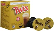 Twix Pods drankpoeder, cacaodrank, chocoladedrank, grendel, compatibel met Dolce Gusto, koffiecapsules, 8 caps