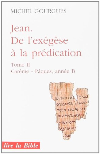 de-l-39-exgse--la-prdication-tome-2-jean
