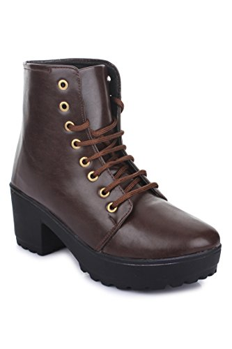 Beautiful Brownstylish ankle length boot for women from Shenaya