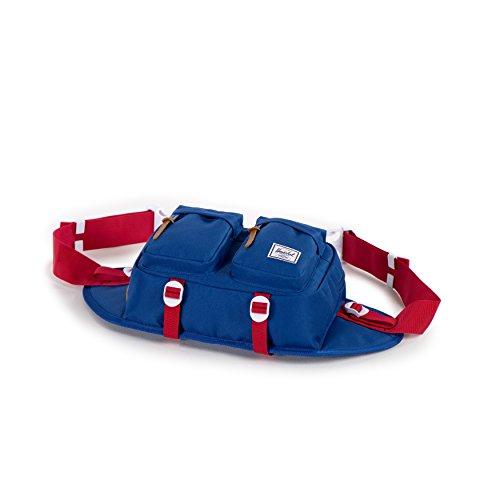 Herschel Supply Company 18Sport Taille Pack, 71cm, Canteen Crosshatch (schwarz) - 10018-01247-OS Deep Ultramarine/Red