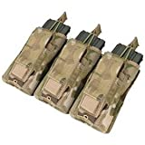 CONDOR MA55-008 Triple Kangaroo Mag Pouch MultiCam