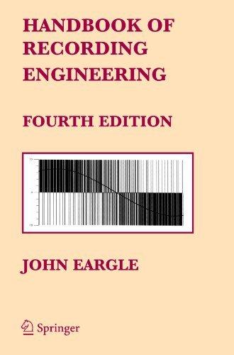 Handbook of Recording Engineering by John Eargle (2010-06-02)
