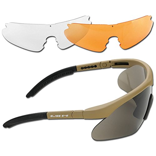 Sonnenbrille Swiss Eye Raptor coyote
