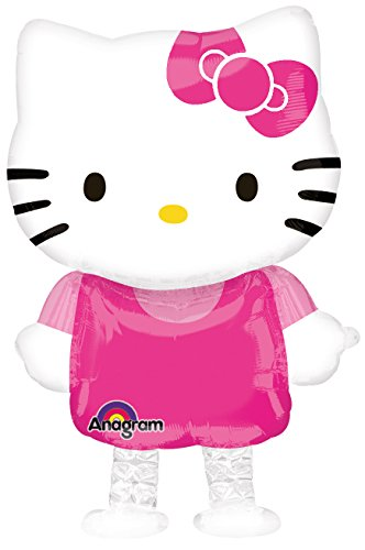 (Unbekannt Anagram 2633663 - Party und Dekoration - Folienballon Air Walker - Hello Kitty, Circa 39 x 59 cm)