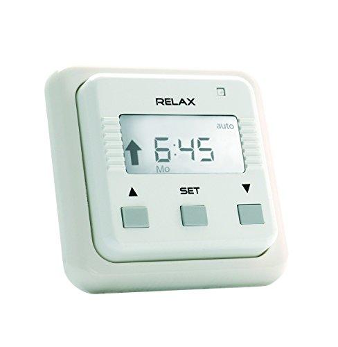 Preisvergleich Produktbild Simu Relax Rollladen Jalousie Zeitschaltuhr mit Wochen- und Tagesprogramm für Unterputz UP
