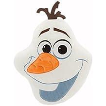 Disney La reina de hielo Olaf cara de la Fortuna–Cojín Frozen Olaf Plush Pillow