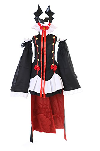 Tepes Kostüm Krul Cosplay - Kawaii-Story MN-33 Seraph of The End Krul Tepes Kleid Vampir Dracula Cosplay Set Kostüm (L)