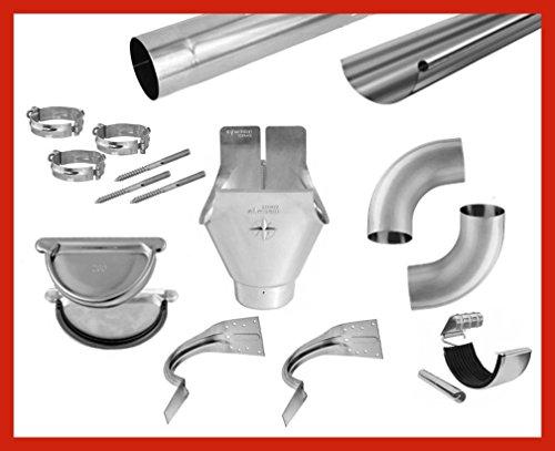 6-meter-dachrinnen-komplettset-titanzink-285-er-mit-rohr-zubehr-80-mm-rinnenhalter-verarbeitungsart-