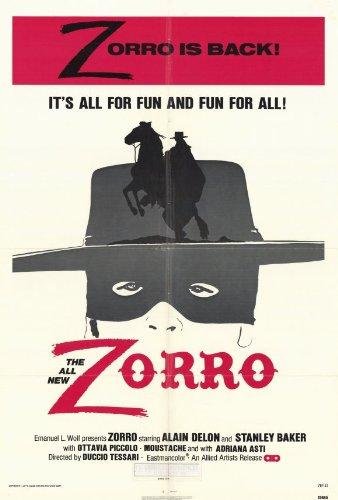 Zorro Plakat Movie Poster (27 x 40 Inches - 69cm x 102cm) (1976)