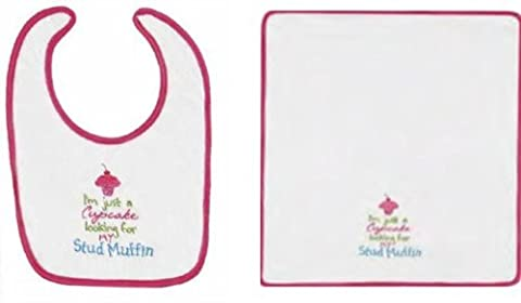 Bib&burp Cloth, Cupcake For Muffin by
