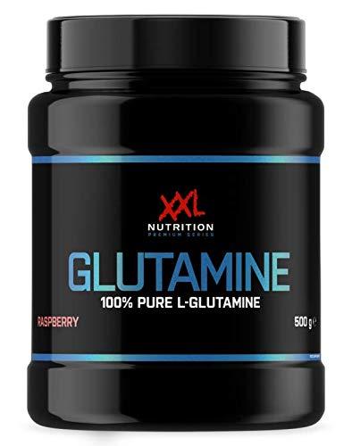 XXL Nutrition Glutamin | 500g | 100% L-Glutamin | Himbeere