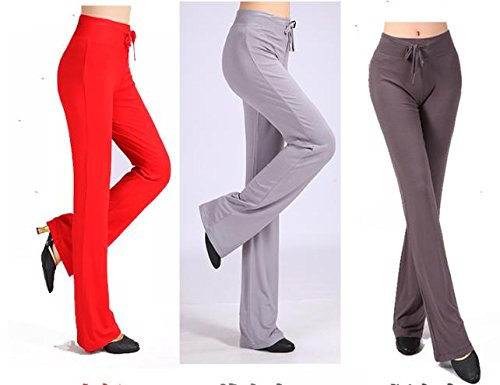 Pantalon de danse de dames modal yoga pants dark grey