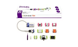 littleBits- Base Kit de instalación eléctrica (650-0119)