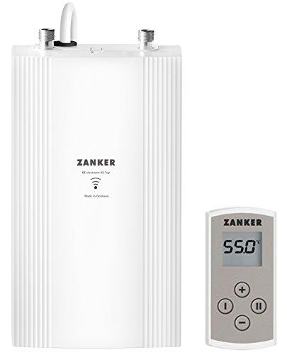 Durchlauferhitzer ZANKER DE 13 KE mit Fernbedienung für die Küche, elektronisch geregelt, 11/13,5 kW, druckfest, EEK A, 230767