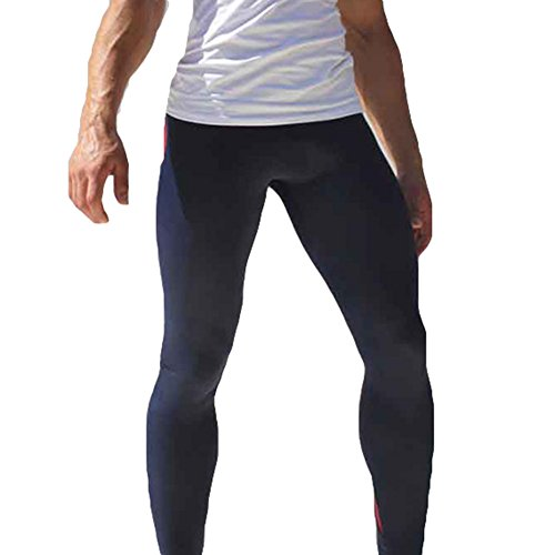 Herren Radhose Fahrradhose Lange Hosen - Männer Leggins Unterhose Kompression Leggings Trainingshoe Fitness Sport Outdoor...