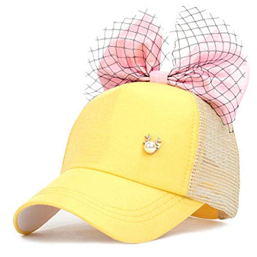 SELYBogen-Hip-Hop-Hut-Schutzkappe des Hip-Hop-Baseballmützenmädchens im Freien Tweed Topper