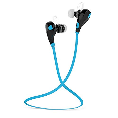 ESTAR HTC HD mini Compatible Wireless Sports Headphones with Mic || Noise Cancellation || Sweatproof Earbuds, Best for Running,Gym || Stereo Sound Quality-BLUE  available at amazon for Rs.999