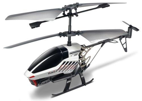 84601 Silverlit Spy Cam II ferngesteuert 3-Kanal Helikopter 2.4GHz mit Gyro und Kamera für Videos bzw. Bilder, farblich sortiert