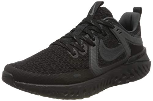 Nike Legend React 2, Zapatillas de Trail Running para Hombre, Negro (Black/Anthracite/Dark Grey 2), 44 EU