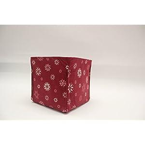 Geschenktasche - Utensilo Eiskristalle (S)
