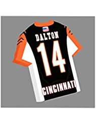 NFL Football américain Jersey en forme Aimants–Vous Choisissez le nom, Nombre et couleurs de l'équipe–personnalisation offerte.