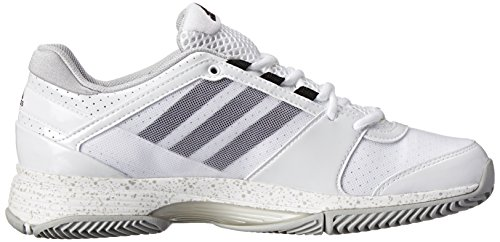 Chaussures Adidas Performance Barricade Team 3 W Tennis, FTWR blanc / noir 1 / argent, 5 M Us FTWR White/Black 1/Silver