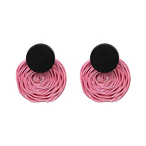 sschnur Ohrringe Lady Drop Ohrringe mehrere Farbe Geschenk für Thanksgiving Geburtstag Hochzeitstag ()