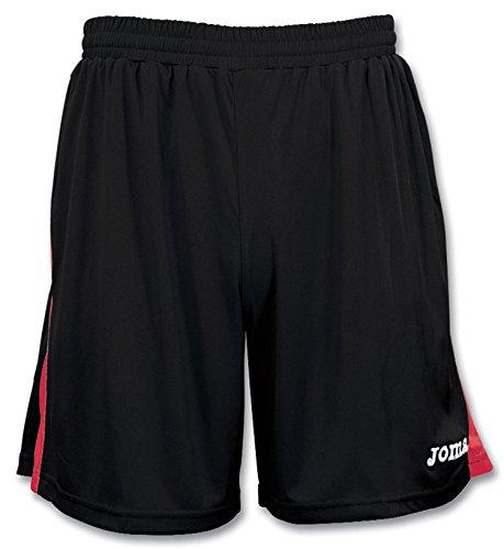 Joma Tokio, Pantaloncino Unisex Adulto Nero/Rosso