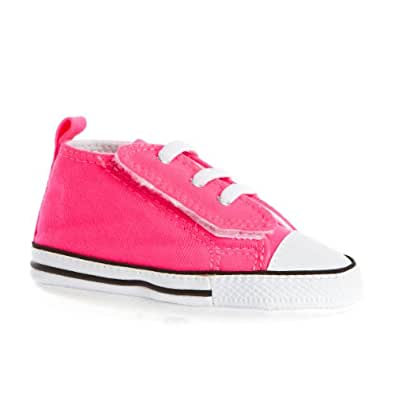 Chaussures Chuck Taylor First Star Easy Slip Converse - Rose Knockout