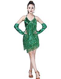 c3654eae8 Amazon.es: ropa baile latino - Verde / Ropa especializada: Ropa