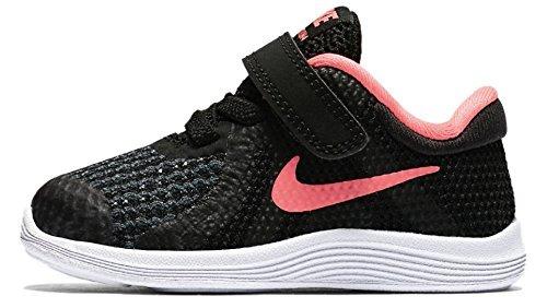 Nike Revolution 4 (TD) Größe 25 Schwarz (Schwarz) Schwarze Nike Girls Laufschuhe