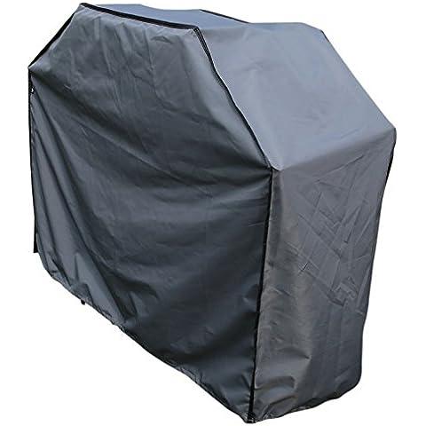 Funda / Cover / Protectora para Barbacoa y Parrilla   150 x 61 x 122 cm (L x A x A)   Gris   Impermeable   SORARA   Poliéster (UV 50+)  Para exterior Muebles de Jardín, Terraza, Patio   Alta