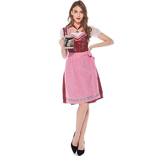 Story of life Oktoberfest Kleidung Europa Und Amerika Spiel Uniformen Cosplay Bier Schwester Restaurant Kellner Magd Kostüm - Womens Tote Schönheit Kostüm