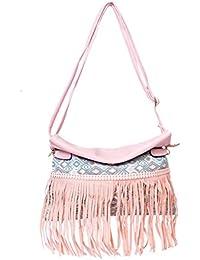 Bagris Desginer Cutting Fringe Sling Bag For Women & Girls GE01001864