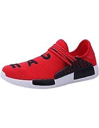 Logobeing Zapatos de Gimnasia Hombre Zapatillas de Deporte Antideslizantes para Correr Zapatillas de Deporte Hombre Zapatillas de Running