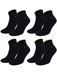 TOMMY HILFIGER Herren Flag Casual Business Quarter Socken 4er Pack