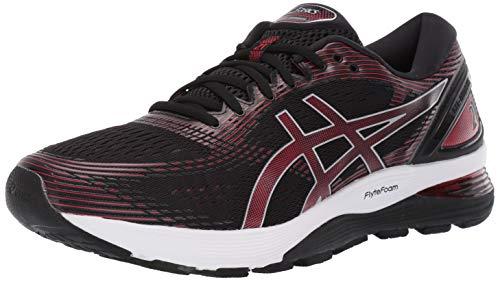 ASICS - Herren Gel-Nimbus 21 Schuhe, 46 EU, Black/Classic Red -