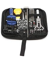20 UNIDS Kit de Herramienta de Reparación de Reloj Práctico Case Case Holder Band Apertura Cuchillo de Enlace de Banda Removedor de Pin Set con Bolsa de Almacenamiento