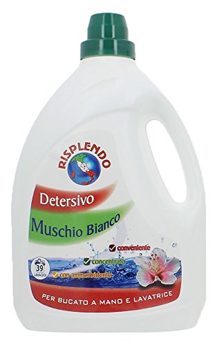 Newsbenessere.com 412nWBcdvfL Antola Detersivo Bucato Linea Risplendo Muschio Bianco - 3 Litri