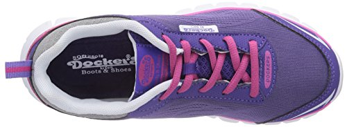 Dockers by Gerli  36SV607, Sneakers basses mixte enfant Violet - Violett (lila 750)