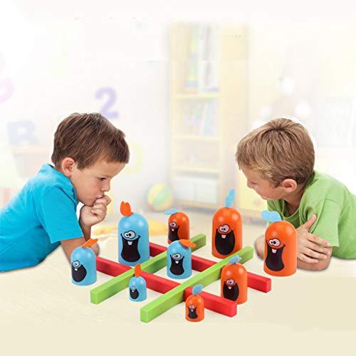 hahuha Toy  Dekompressionsspielzeug,Fähigkeit Gebäude Pädagogisches Spielzeug Indoor Gobblet Gobblers Brettspiel Spielzeug für Kinder