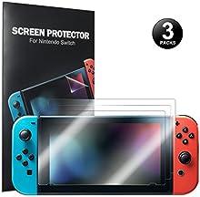 Protector de pantalla para Nintendo Switch - Younik 0.125mm/4H Protector de pantalla film transparente altamente sensible para Nintendo Switch (3 paquetes)