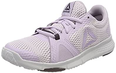 Reebok Damen Flexile Fitnessschuhe, Mehrfarbig (Quartz/Smoky Volcano/Porcelain 000), 41 EU