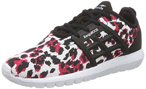 print pink Donna Scarpe ginnastica da leo 669 8203 Mehrfarbig KangaROOS Multicolore x K q6HTPA
