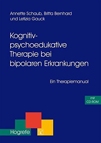 Cover »Kognitiv-psychoedukative Therapie bei bipolaren Erkrankungen«