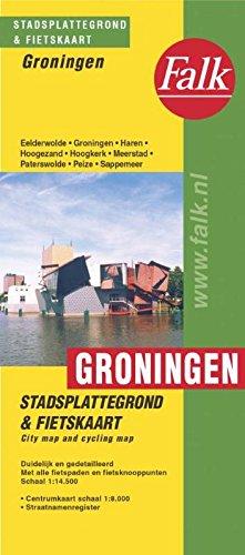 Groningen plattegrond por Suurland-Falkplan Bv
