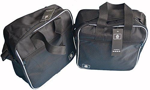 1 Paar Koffer Innentaschen Kofferinnentaschen Harley Davidson Heritage [H10ST]